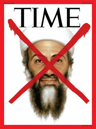 Osama bin laden time cover