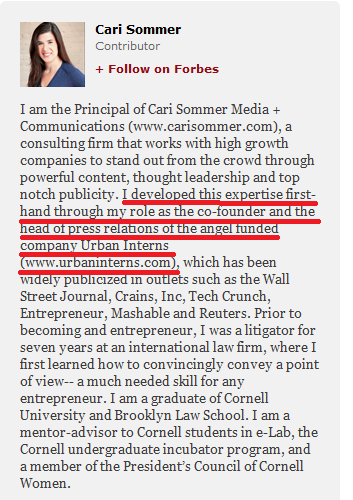 Cari Sommers Forbes Bio
