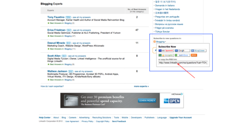 LinkedIn Answers Screen 5