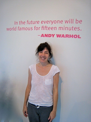 15 Minutes of Fame Andy Warhol Quote