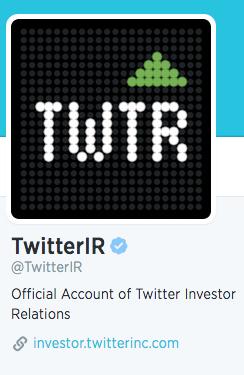 Twitter Investor Relations Logo (TWTR)