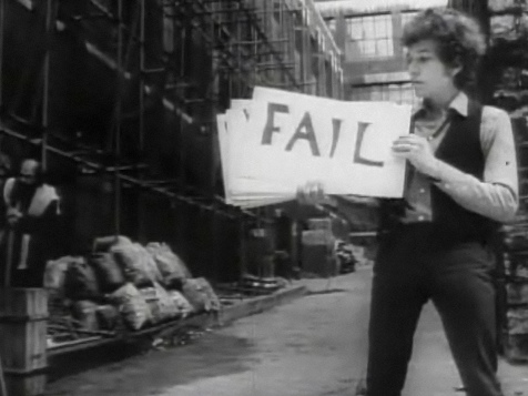 Fail Sign with Bob Dylan