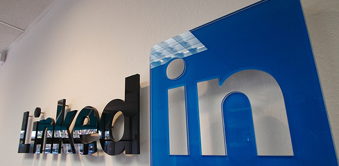LinkedIn Logo Office