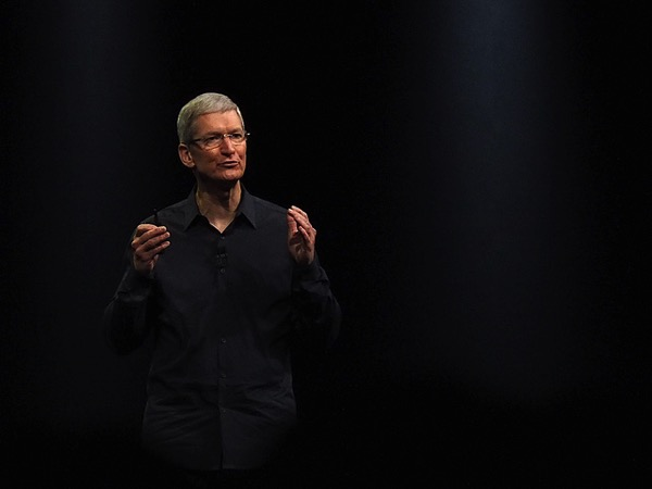 Tim Cook Pic Black Background