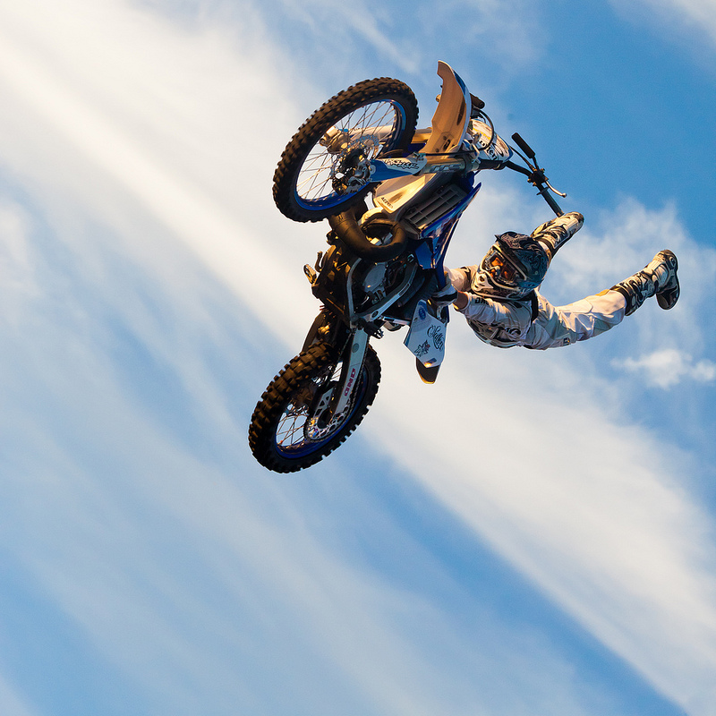 Motorcycle Rider Jumping Mid Air2