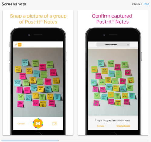 3M Post-it Notes Plus iTunes Home Page